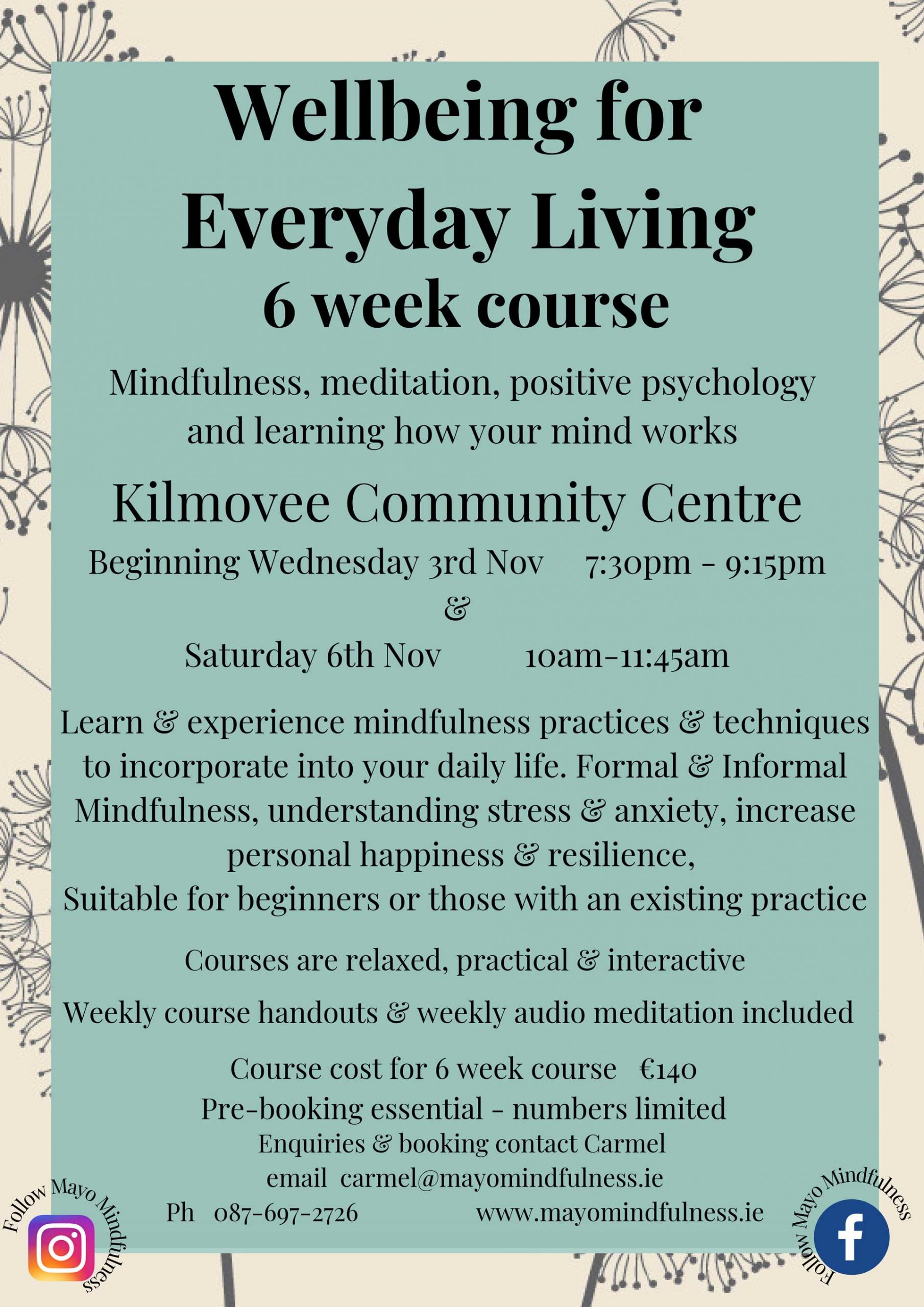 Wellbeing for Everyday Living